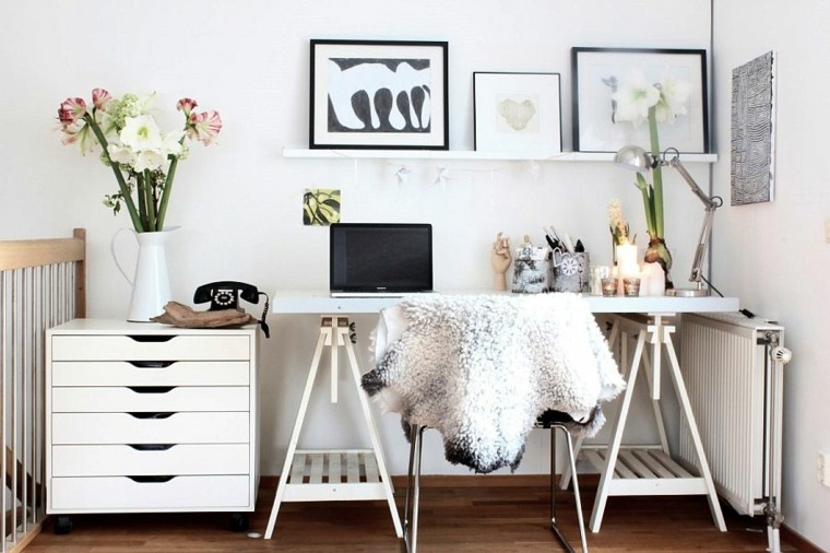 bonita decoracion escandinava moderna