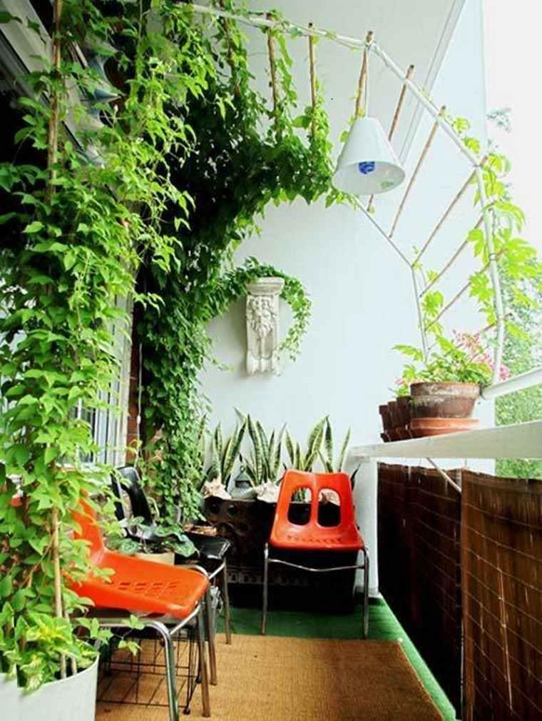 Decoracion de balcones y terrazas peque as 99 ideas geniales - Terrazas bonitas ...