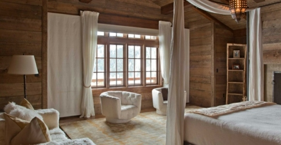 Maderas rusticas para decorar interiores - 38 ideas.
