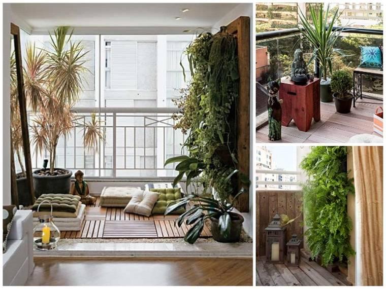 bonitos diseños balcones pequeños