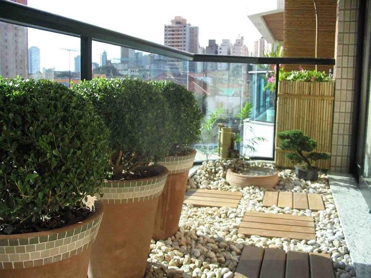 bonita decoraciñon suelo terraza