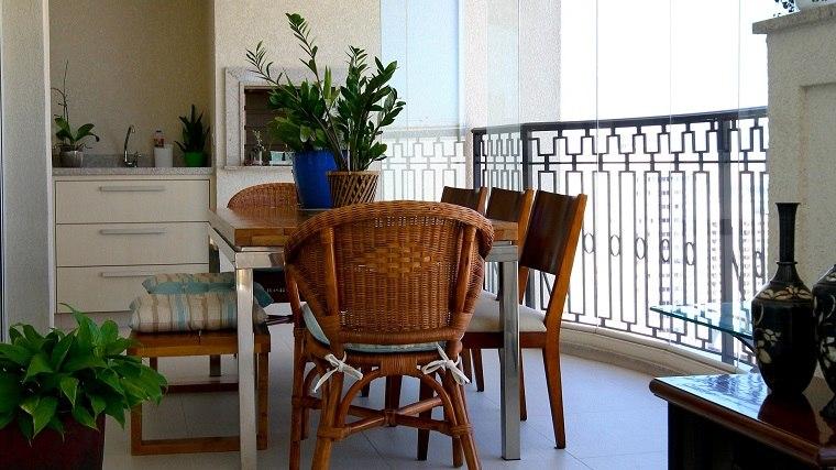 bonito conjunto muebles mimbre