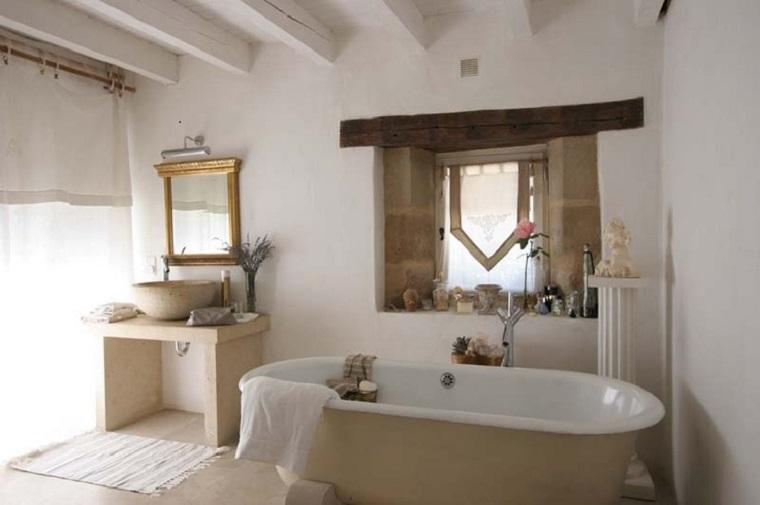 Muebles de ba o modernos de estilo r stico 49 modelos - Banos con estilo rustico ...