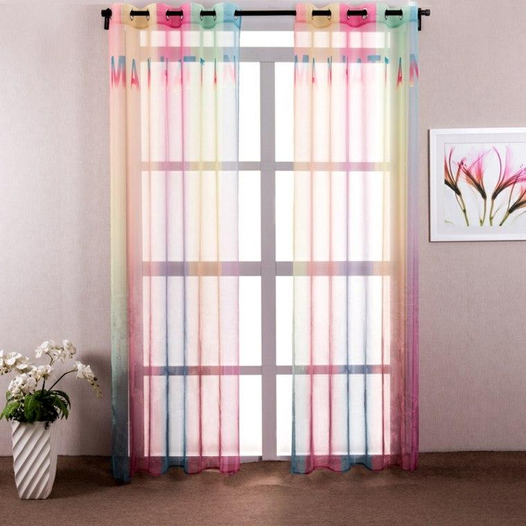 Decoracion cortinas salon los 50 dise os m s modernos - Cortinas y estores para cocinas ...