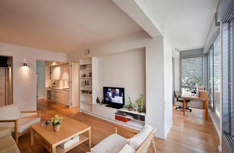 apartamento pequeño diseño escandinavo