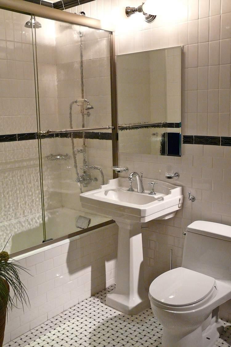 diseño baño estilo retro