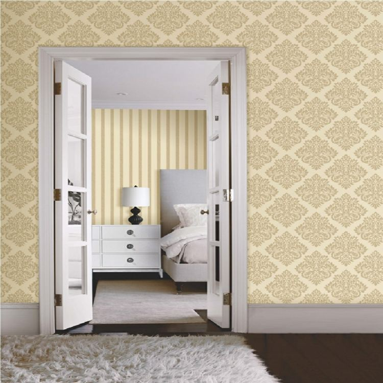 bonito papel pared beige