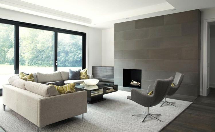 bonito diseño salón moderno