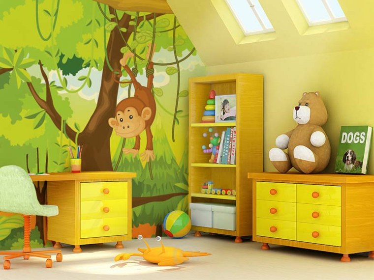 bonito diseño cuarto infantil