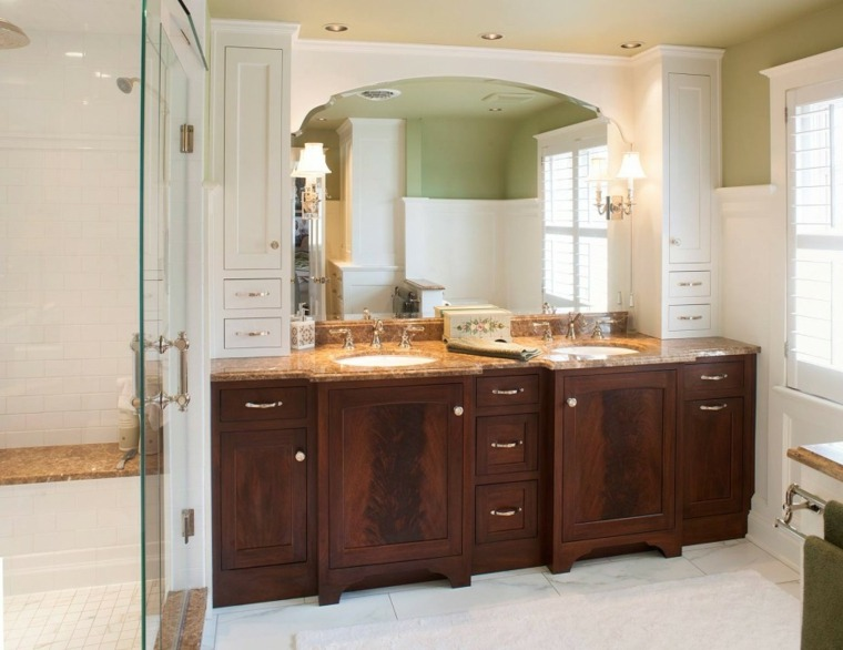 armarios de ba 241 o y muebles lavabo de madera 50 ideas bathroom vanity ideas traditional bathroom milwaukee