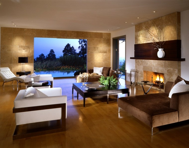 bonito salon decoracion moderna