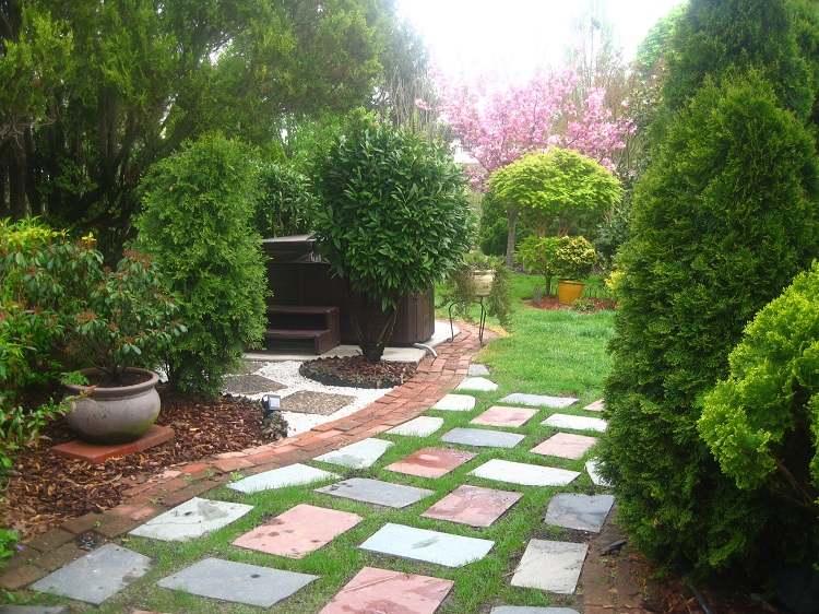 Jardines japoneses modernos 25 ideas de paisajismo Ideas paisajismo jardines