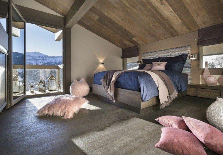 cabecero cama grande distintos colores ideas