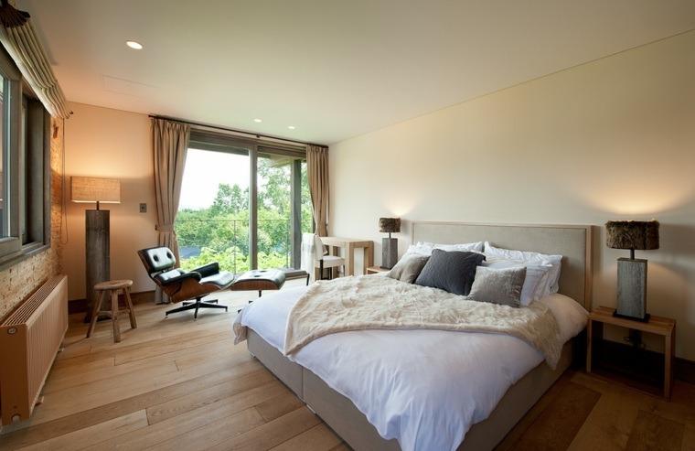 cabecero cama simple dormitorio opciones ideas