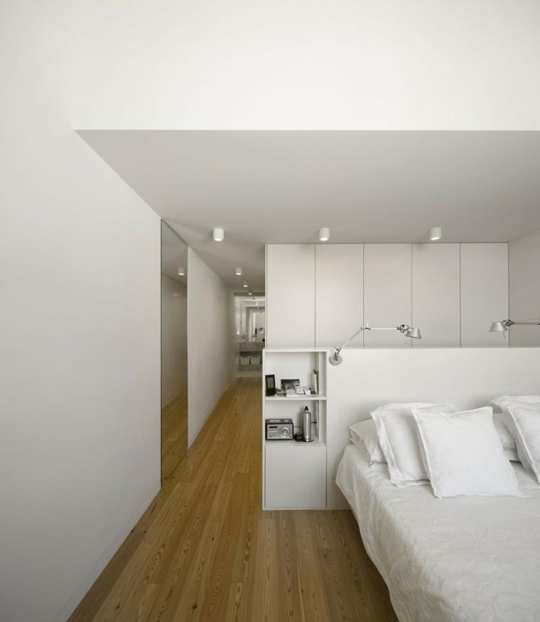 cabeceros cama blancos madera ideas