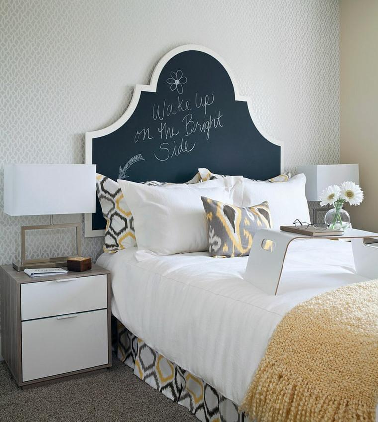 cabeceros cama diseno tradicional dormitorio ideas