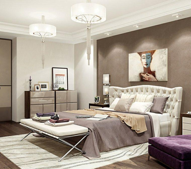 Cabeceros originales 50 tonos de estilos - Cabecero cama blanco ...