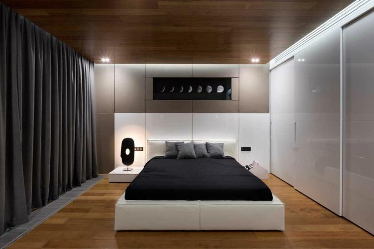 cabeceros originales dormitorio cama blanca ideas