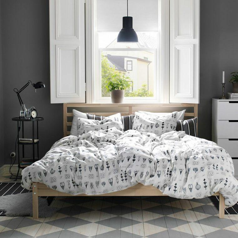 cabeceros originales dormitorio cama contemporaneo madera ideas