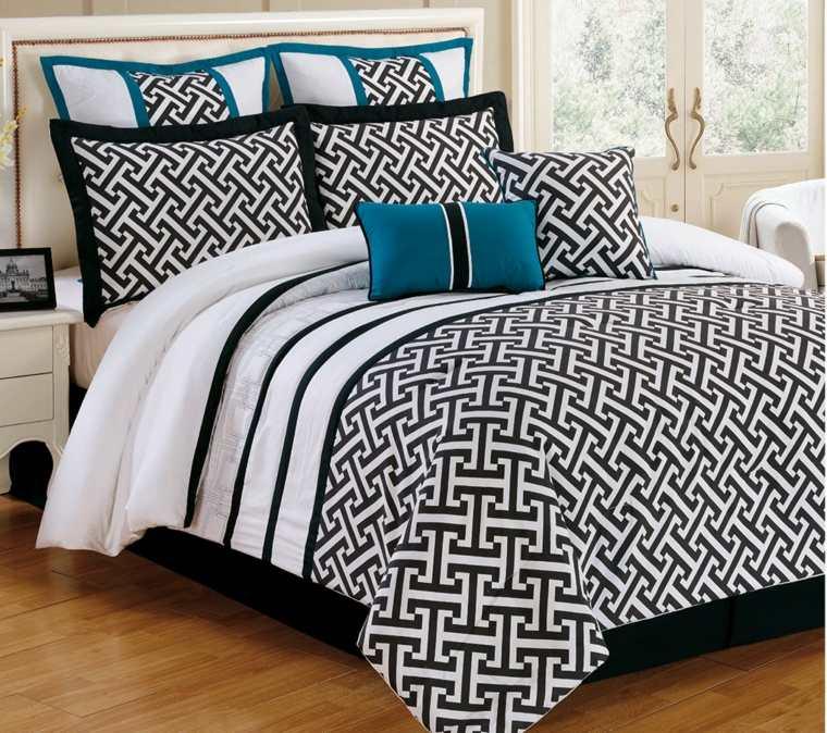 cabeceros originales dormitorio cama cuero blanco ideas