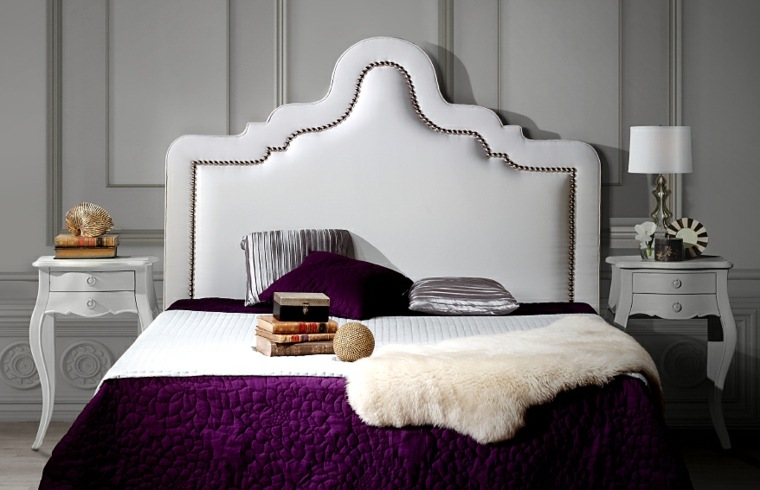 cabecero original dormitorio cama esencias mediteraneas ideas
