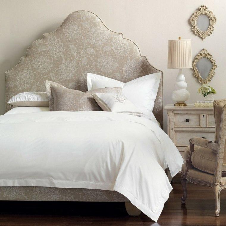 cabecero original dormitorio cama precioso ideas