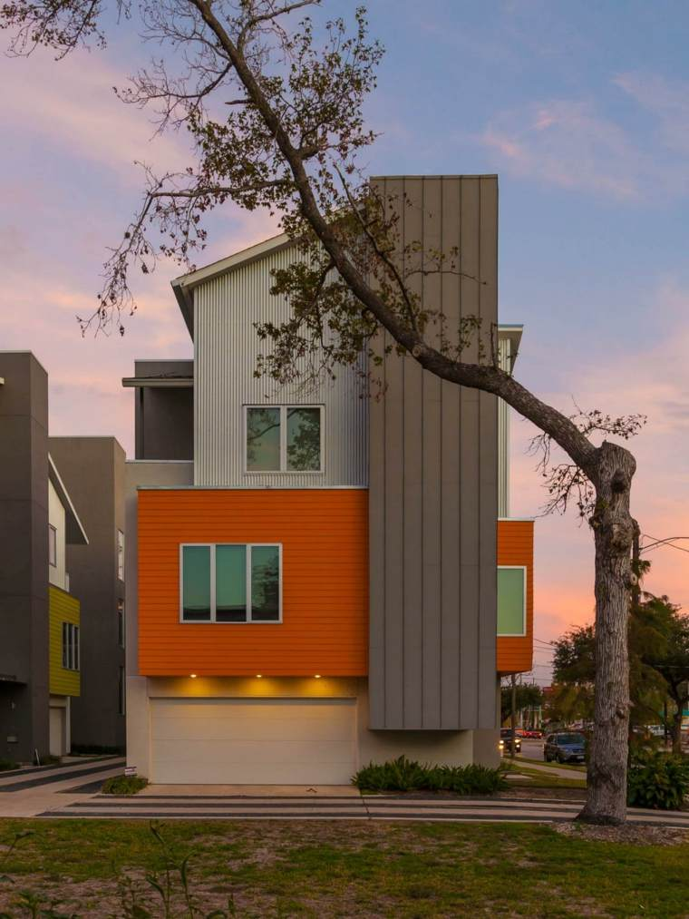 Fachadas de casas modernas treinta y ocho dise os for Colores para pintar fachadas de casas modernas