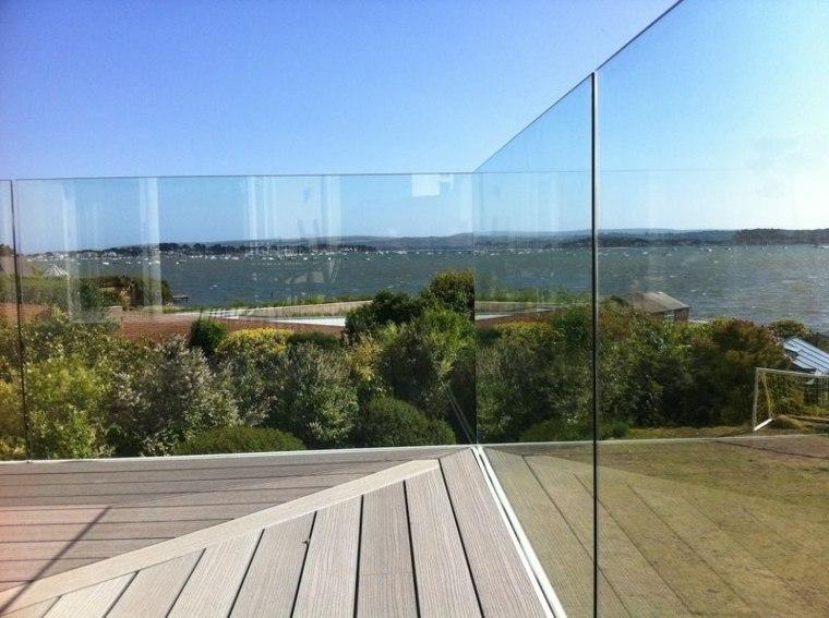 cerramientos modernos vallas vidrio