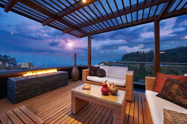 cerramientos terrazas pergolas detalles soleados idea