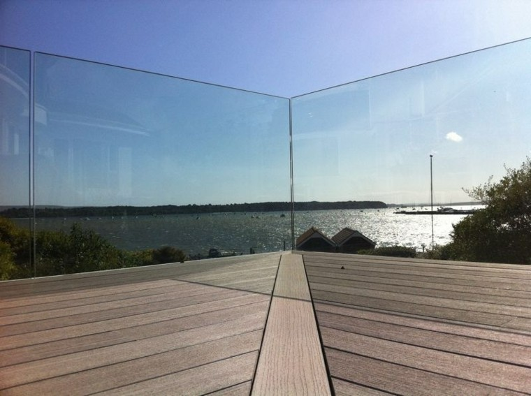 cerramientos terrazas modernas vidrio vallas