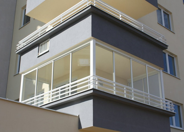Cerrar balcon latest cerramiento aluminio with cerrar - Cerrar balcon ...
