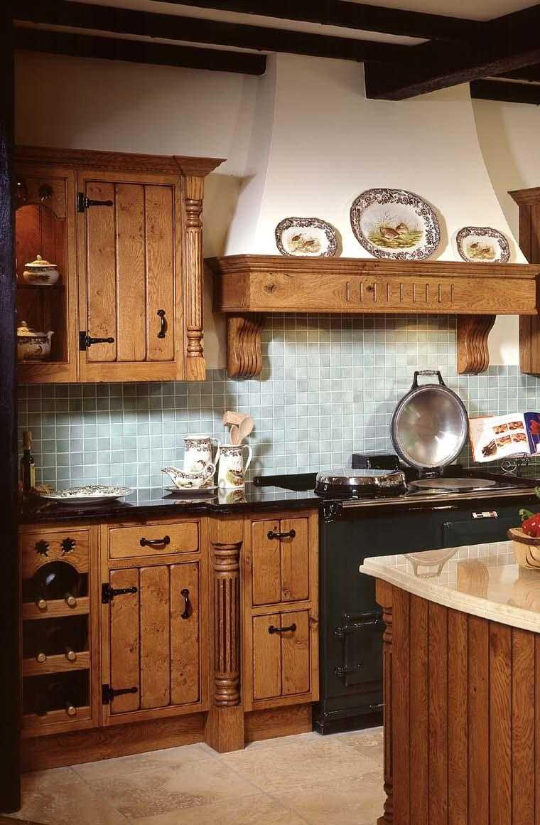 Decoración de cocinas antiguas - 38 ideas geniales