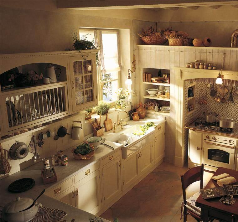 Decoración de cocinas antiguas   38 ideas geniales