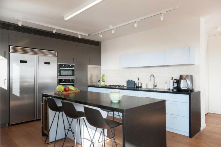Ideas para cocinas modernas que te sorprender n for Cocinas modernas negras