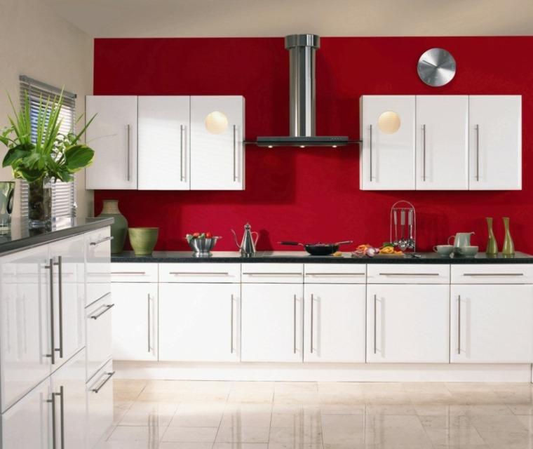 Cocinas En Rojo Treinta Y Ocho Disenos Ardientes - Cocinas-en-rojo