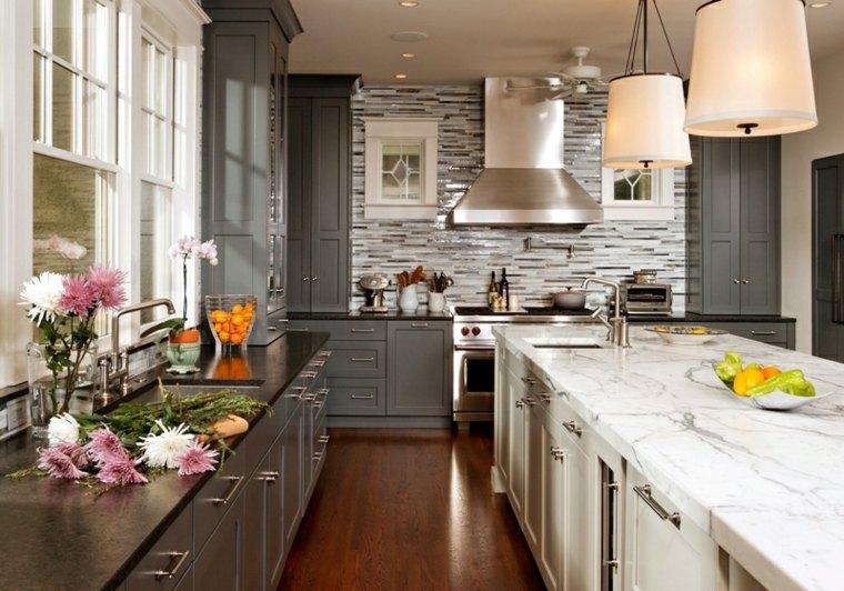 cocina diseño muebles estilo retro