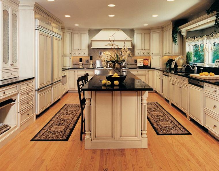 decoraci n de cocinas antiguas 38 ideas geniales On disenos de cocinas grandes