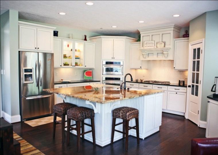 cocina obra diseño moderno
