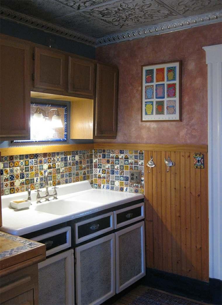 Cocina de obra treinta y siete dise os estupendos for Azulejos para cocina 2016