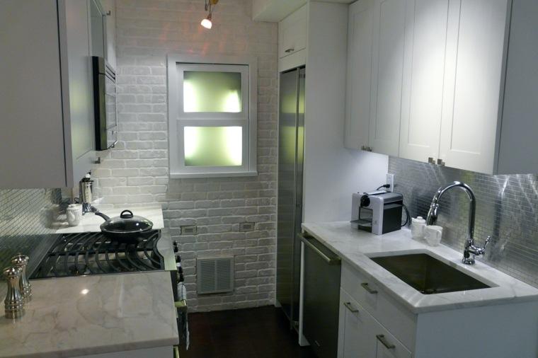 cocina pequeña diseño moderno