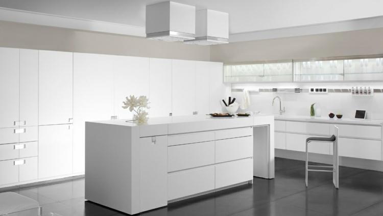 cocina unica soluciones diseño blanco detalles campanas