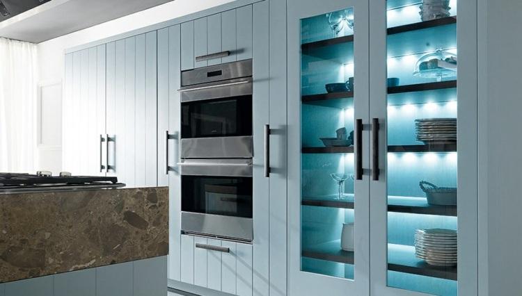 cocina unica soluciones diseño suelos paredes cristales