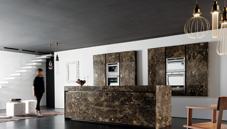 cocina unica soluciones diseño variaciones paredes colores