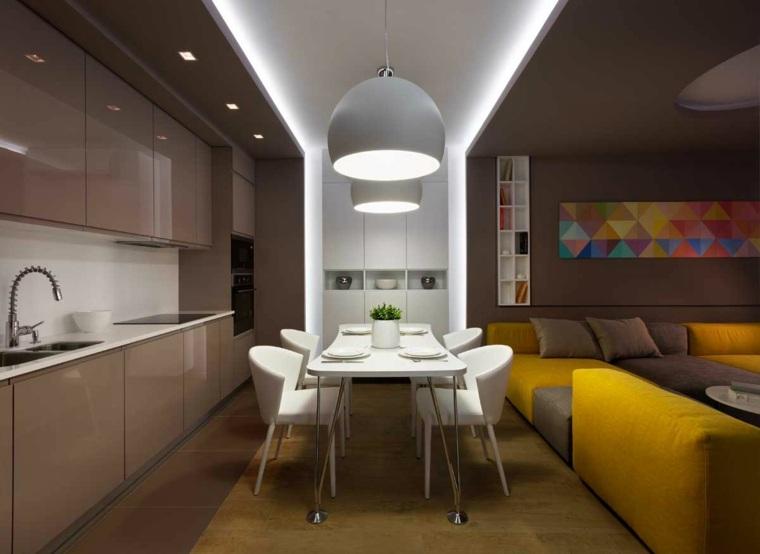cocinas bonitas apartamentos pequenos ideas