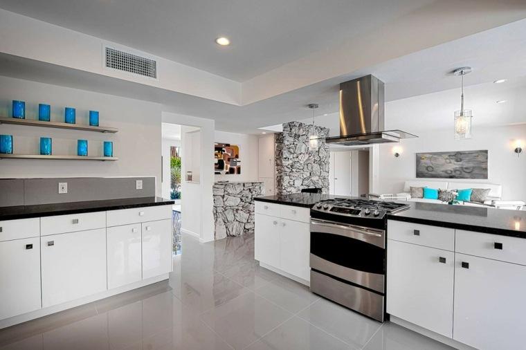 Cocinas bonitas 39 opciones que atraen for Cocinas bonitas blancas
