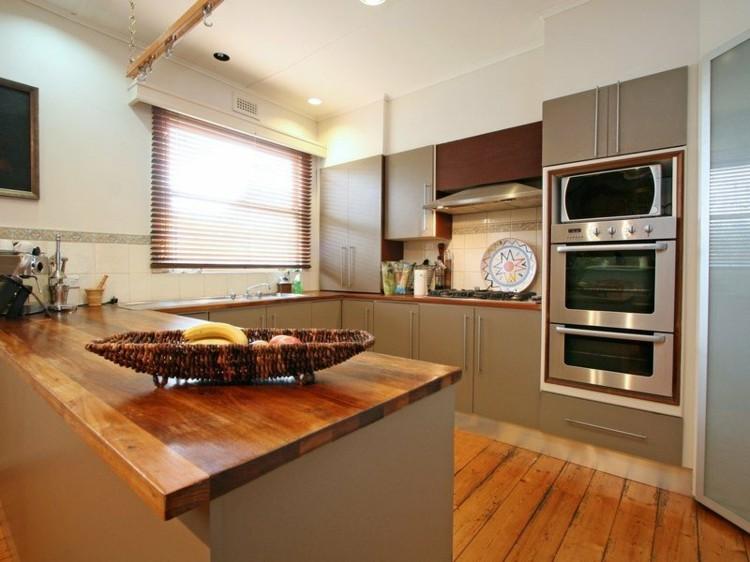 cocinas en u hornos cocinas madera