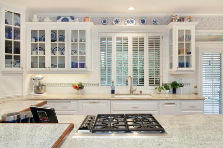 cocinas fotos decoracion caidas platos ventanas