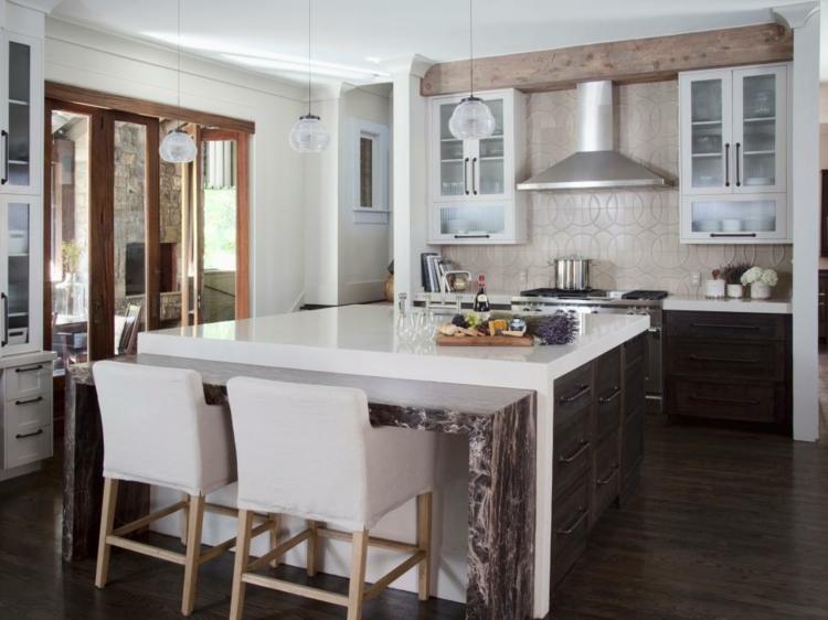 cocinas fotos decoracion rusticos detalles maderas