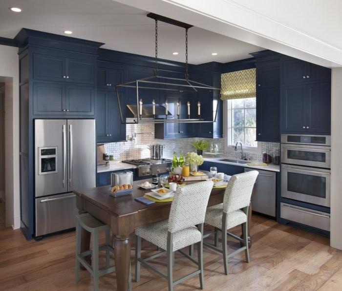 cocinas mobiliario diseño estilos contrastes led