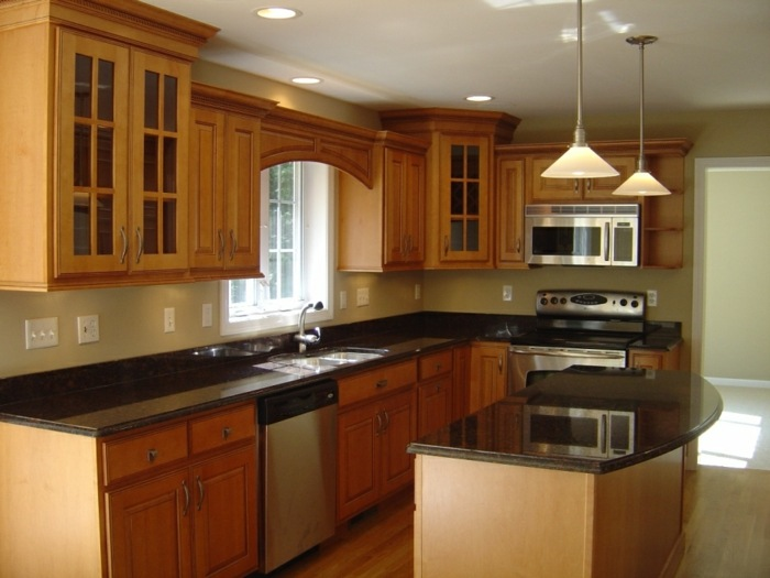 cocinas mobiliario diseño estilos naturales lamparas